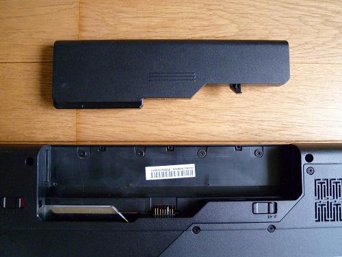 G570のバッテリー
