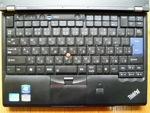 X220のキーボード