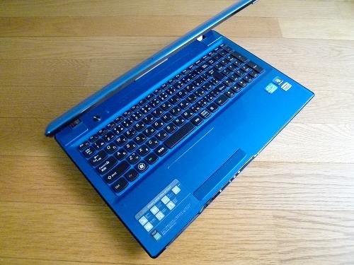 IdeaPad Z570 コーラルブルーモデル