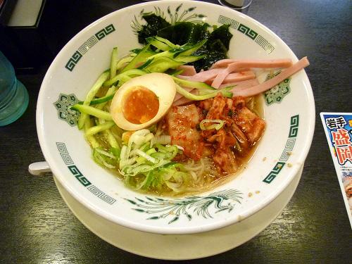 日高屋の盛岡冷麺