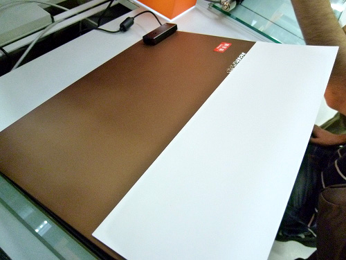 IdeaPad U260天板