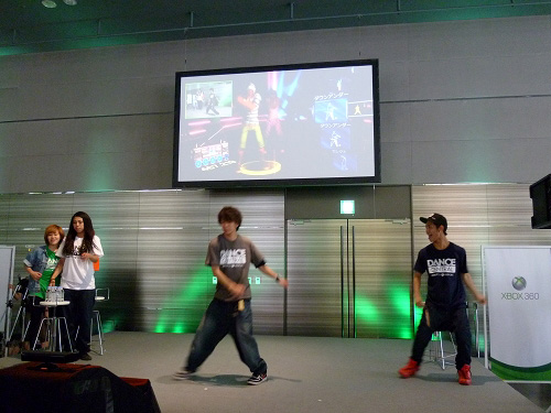 Dance Centralステージ
