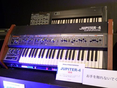 Rolandの製品展示