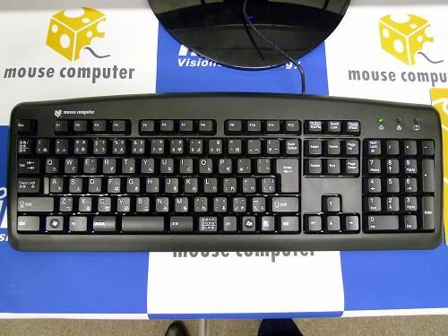 MDV ADVANCE Sのキーボード