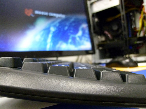 MDV ADVANCE Sのキーボード側面より