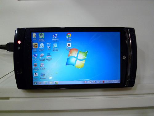 Windows7ケータイ F-07C
