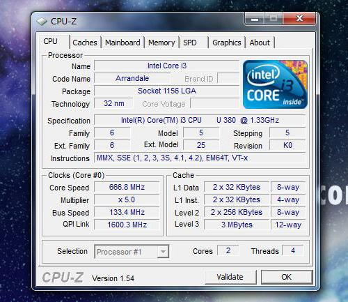 LuvBook L SSDモデルの構成 CPU-Z