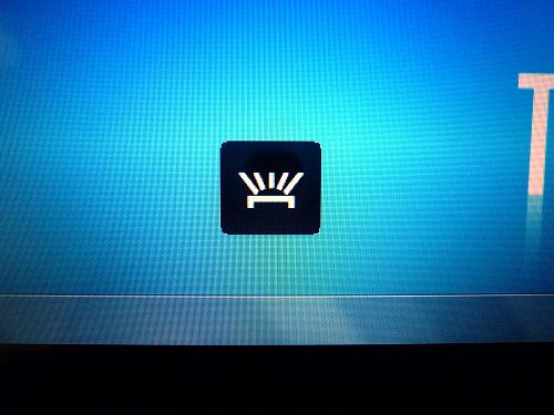 キーボードバックライトの状態3