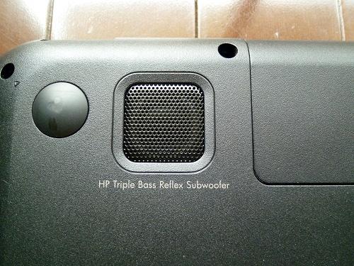 HP Triple Bass Reflex Subwoofer