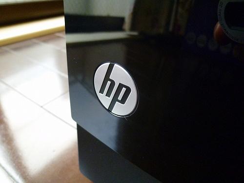 hpのロゴ