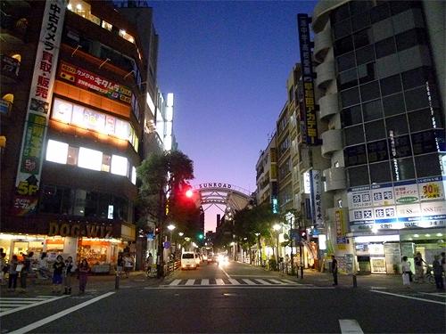夕方の吉祥寺