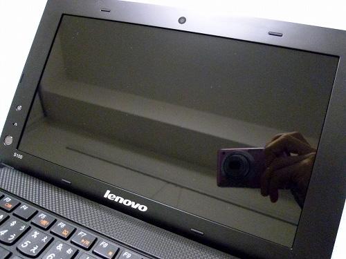 IdeaPad S100の液晶