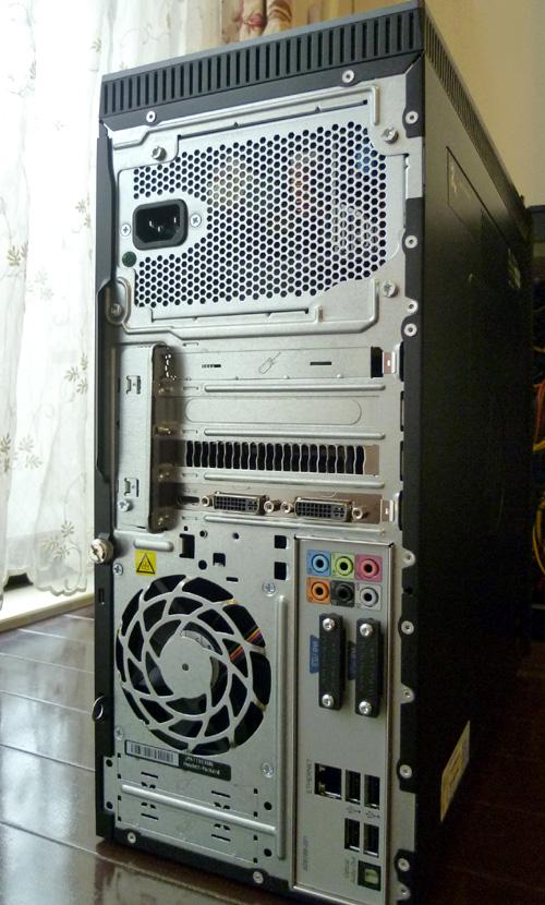 h8-1080jp 筐体背面全体
