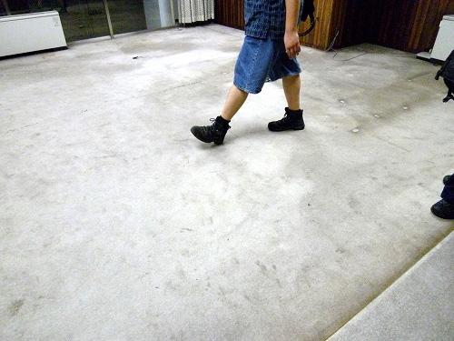 社長室の床