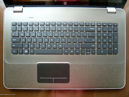 ENVY17-2100 の キーボード