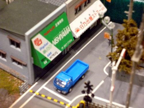 町並みの模型