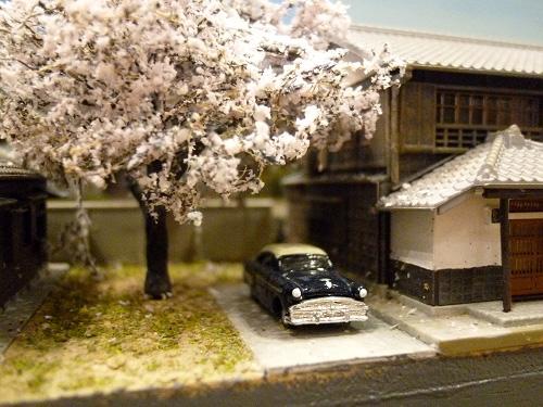 ある家の庭の模型