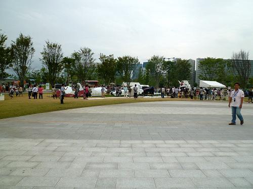 シンボルプロナード公園セントラル広場