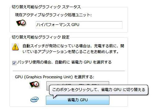 省電力GPU