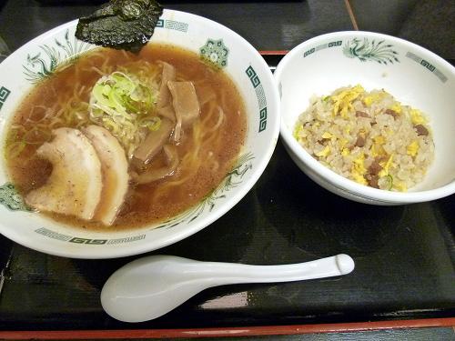 中華そば+半炒飯セット