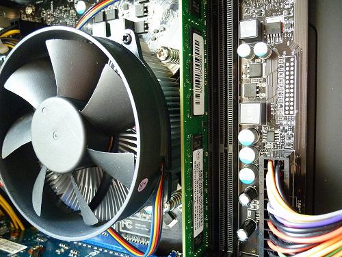 CPUにメモリ