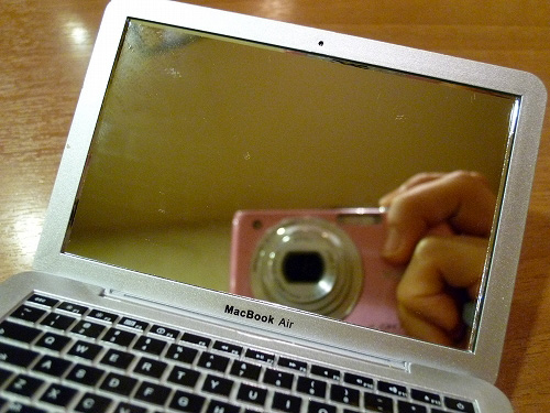 MirrorBook Air のディスプレイ