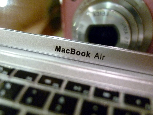 MacBook Airのロゴ