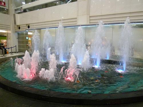 サンシャインシティの噴水
