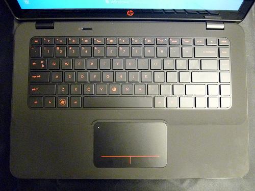 ENVY14キーボード