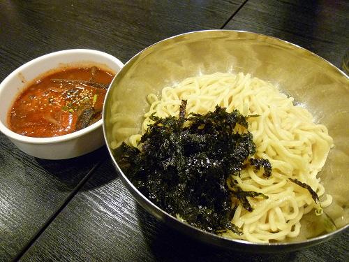 ユッケジャンつけ麺