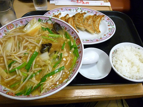 酸辣湯麺定食