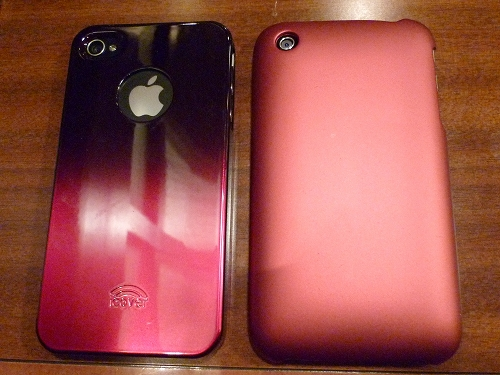 iPhone 3GとiPhone 4