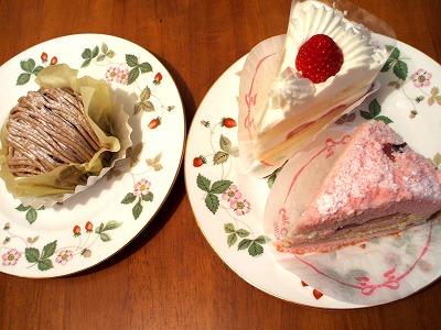 さくらのケーキと森のモンブラン、スペシャルショート