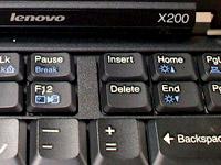 ThinkPad X200ロゴ